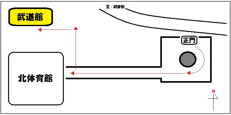 武道館地図